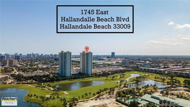 1745 E Hallandale Beach Blvd 1801W, Hallandale Beach, FL 33009 (MLS #A11030647) :: Berkshire Hathaway HomeServices EWM Realty
