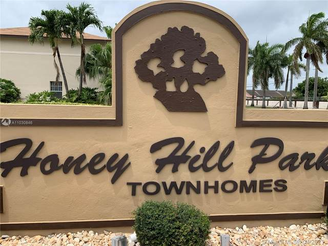 19771 NW 34th Ave #19771, Miami Gardens, FL 33056 (MLS #A11030846) :: The Pearl Realty Group