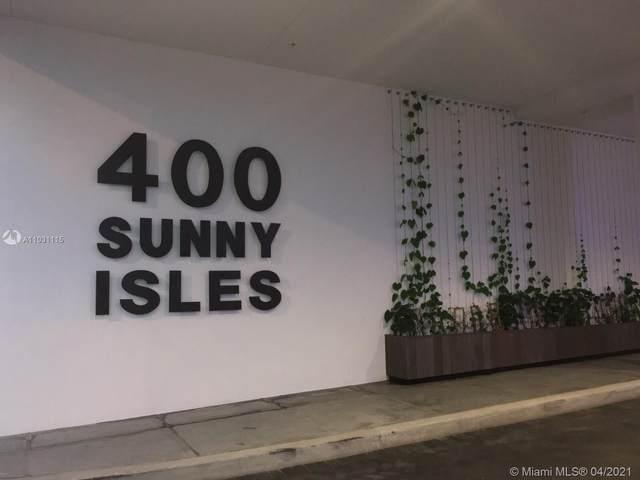 400 Sunny Isles Blvd #1701, Sunny Isles Beach, FL 33160 (MLS #A11031115) :: The Teri Arbogast Team at Keller Williams Partners SW