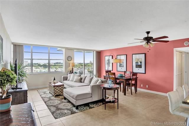 2100 Sans Souci Blvd B711, North Miami, FL 33181 (#A11031380) :: Posh Properties