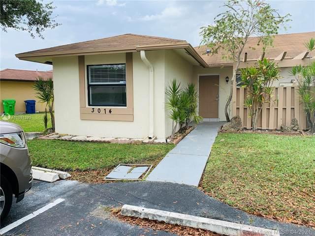 3014 NW 110th Ave #3014, Sunrise, FL 33322 (MLS #A11031393) :: Carole Smith Real Estate Team