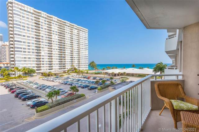 1980 S Ocean Dr 4K, Hallandale Beach, FL 33009 (MLS #A11031498) :: The Howland Group