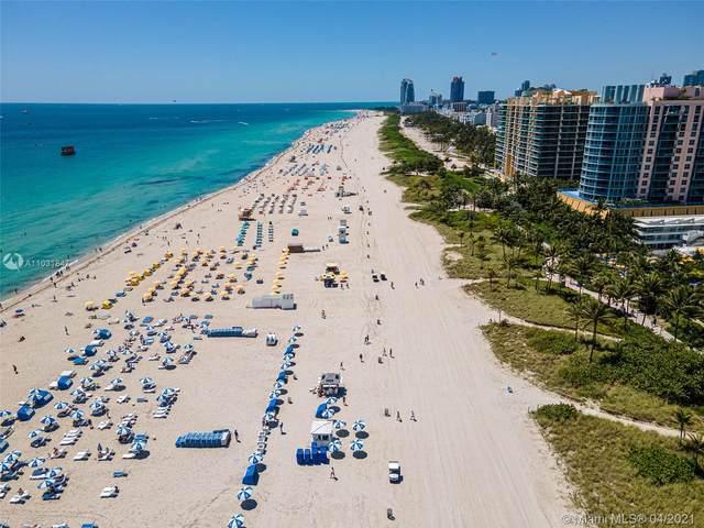 1621 Collins Ave #908, Miami Beach, FL 33139 (MLS #A11031847) :: Equity Advisor Team