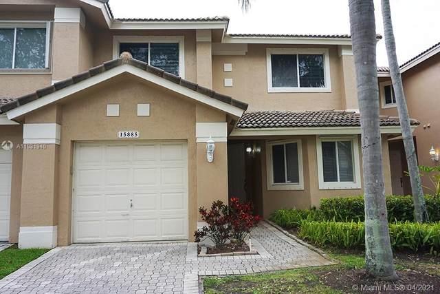15885 SW 11th St 3-32, Pembroke Pines, FL 33027 (MLS #A11031940) :: Albert Garcia Team