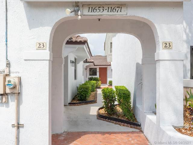 11663 NW 11th St #1163, Pembroke Pines, FL 33026 (MLS #A11031978) :: Prestige Realty Group