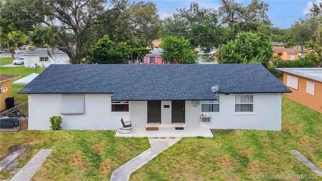2351 NW 95th Ter, Miami, FL 33147 (#A11032041) :: Posh Properties
