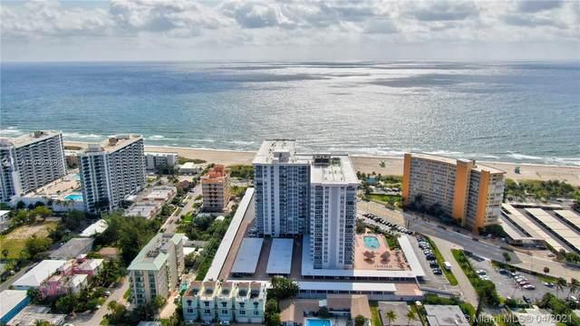 405 N Ocean Blvd #1523, Pompano Beach, FL 33062 (MLS #A11032329) :: The Riley Smith Group