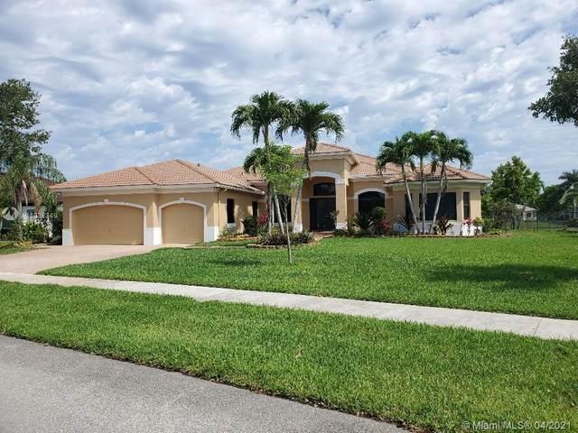 13859 SW 40th St, Davie, FL 33330 (MLS #A11032349) :: The Rose Harris Group