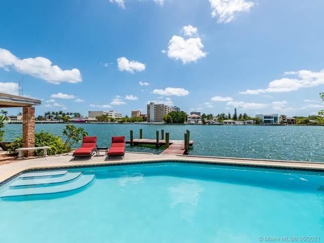 7701 Beachview, North Bay Village, FL 33141 (MLS #A11032450) :: Prestige Realty Group