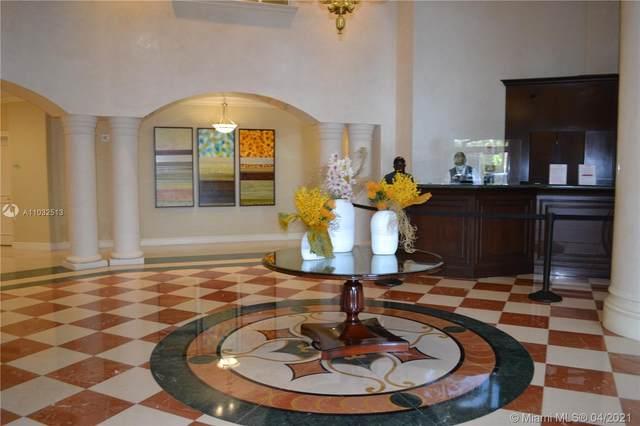 19900 E Country Club Dr #410, Aventura, FL 33180 (#A11032513) :: Posh Properties