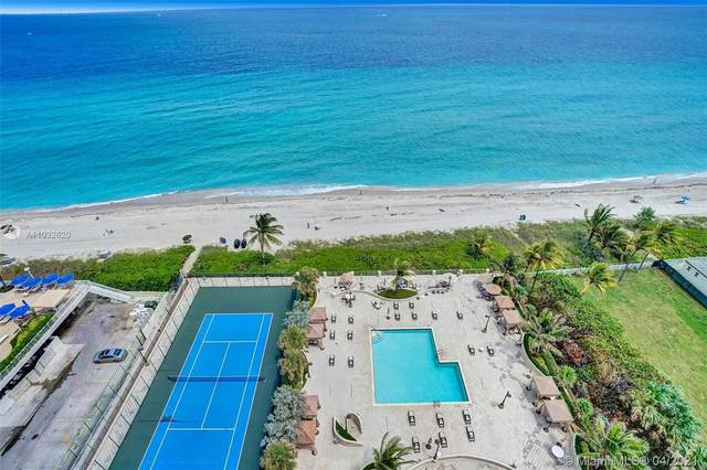 1912 S Ocean Dr 18A, Hallandale Beach, FL 33009 (MLS #A11032620) :: The Teri Arbogast Team at Keller Williams Partners SW