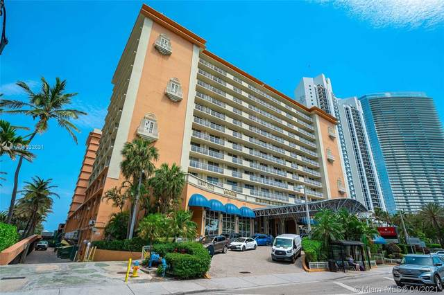 19201 Collins Ave #535, Sunny Isles Beach, FL 33160 (#A11032631) :: Posh Properties