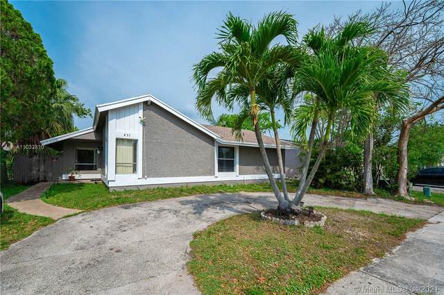431 SW 83rd Ave, North Lauderdale, FL 33068 (MLS #A11032810) :: Team Citron
