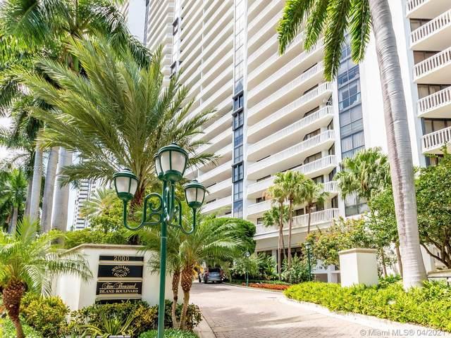 2000 Island Blvd #710, Aventura, FL 33160 (MLS #A11032825) :: The Rose Harris Group