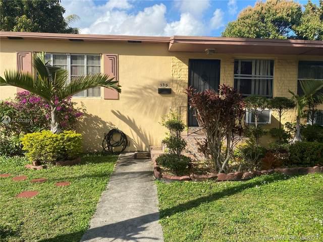 335 NE 110th Ter, Miami, FL 33161 (#A11032833) :: Posh Properties