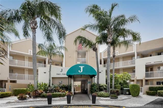 7367 Granville Dr #306, Tamarac, FL 33321 (MLS #A11032889) :: Compass FL LLC