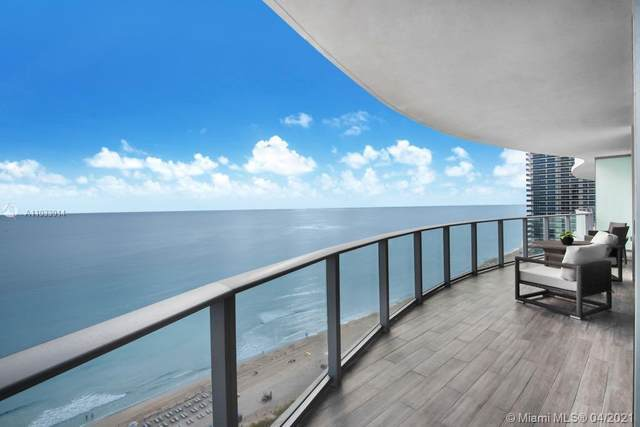 4111 S Ocean Dr #1602, Hollywood, FL 33019 (MLS #A11033014) :: The Rose Harris Group