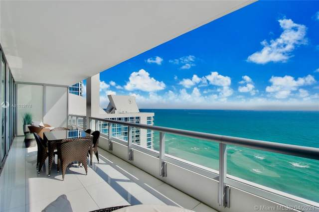 6799 Collins Ave #1704, Miami Beach, FL 33141 (MLS #A11033178) :: The Teri Arbogast Team at Keller Williams Partners SW