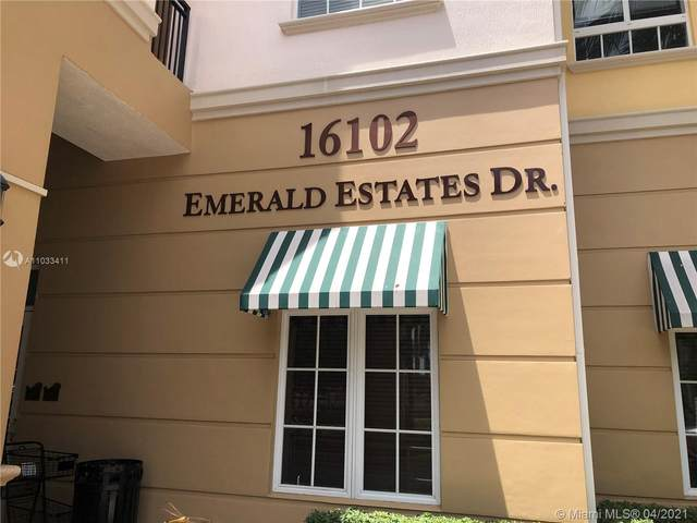 16102 Emerald Estates Dr #232, Weston, FL 33331 (MLS #A11033411) :: Compass FL LLC