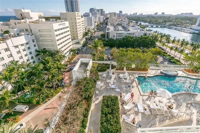 4401 Collins Ave #1104, Miami Beach, FL 33140 (#A11033437) :: Posh Properties