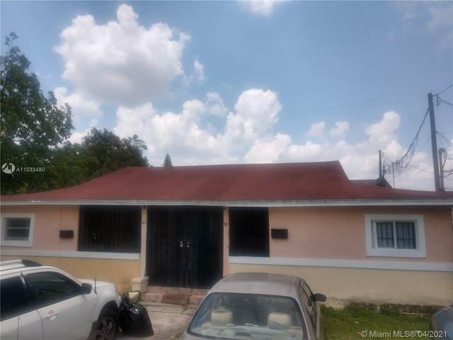 21 NW 76th St, Miami, FL 33150 (#A11033480) :: Posh Properties