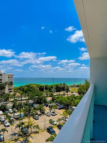 100 Bayview Dr #812, Sunny Isles Beach, FL 33160 (MLS #A11033744) :: The Howland Group