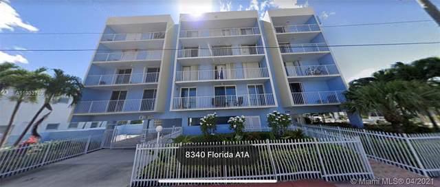 8340 Harding Ave #503, Miami Beach, FL 33141 (MLS #A11033780) :: Compass FL LLC