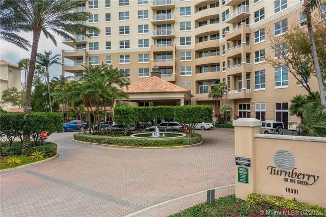 19501 W Country Club Dr #613, Aventura, FL 33180 (MLS #A11033844) :: Compass FL LLC