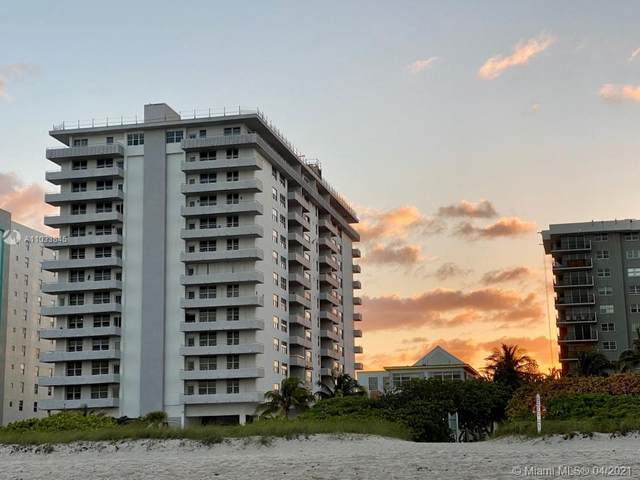 9273 Collins Ave #706, Surfside, FL 33154 (MLS #A11033845) :: Equity Realty