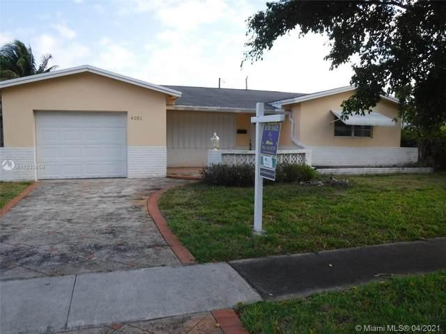 4101 Monroe St, Hollywood, FL 33021 (MLS #A11033859) :: Prestige Realty Group