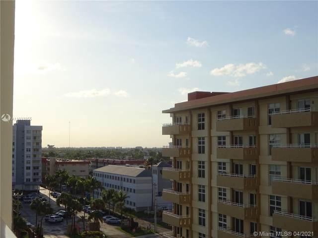 3140 S Ocean Dr #607, Hallandale Beach, FL 33009 (MLS #A11033955) :: GK Realty Group LLC