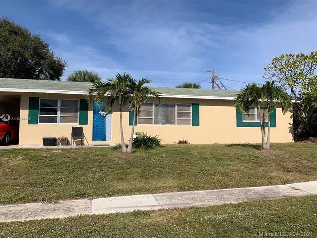 1632 N 25th Ct, Riviera Beach, FL 33404 (MLS #A11034419) :: The Rose Harris Group