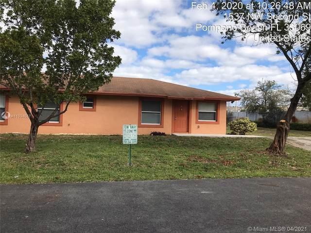 300 NW 16th Ave, Pompano Beach, FL 33069 (#A11034557) :: Posh Properties