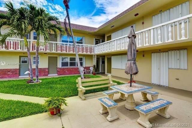 1504 N 12th Ct 6B, Hollywood, FL 33019 (MLS #A11034724) :: Compass FL LLC