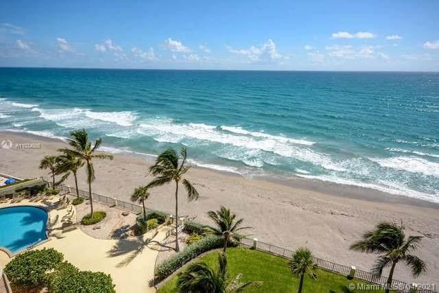 100 Beach Rd #803, Tequesta, FL 33469 (MLS #A11034866) :: The Teri Arbogast Team at Keller Williams Partners SW