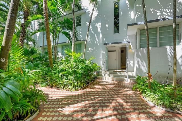 3917 N Meridian Ave #104, Miami Beach, FL 33140 (MLS #A11035511) :: The Teri Arbogast Team at Keller Williams Partners SW