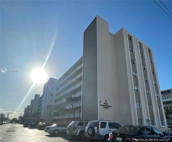 421 NE 14th Ave #706, Hallandale Beach, FL 33009 (MLS #A11035659) :: Compass FL LLC