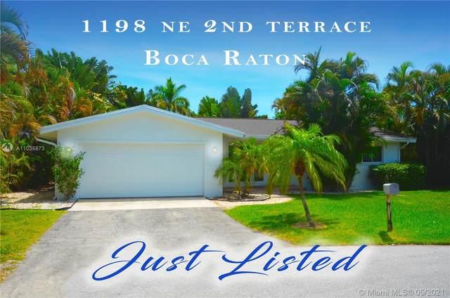 1198 NE 2nd Ter, Boca Raton, FL 33432 (MLS #A11035873) :: The Rose Harris Group
