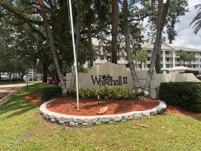 1715 Whitehall Dr #404, Davie, FL 33324 (MLS #A11035880) :: Compass FL LLC