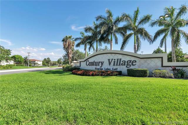 650 SW 124th Ter 408P, Pembroke Pines, FL 33027 (MLS #A11036001) :: Equity Realty
