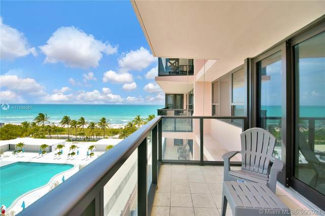 5225 Collins Ave #806, Miami Beach, FL 33140 (MLS #A11036081) :: The Teri Arbogast Team at Keller Williams Partners SW