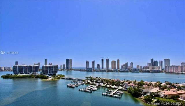 7000 Island Bl #1809, Aventura, FL 33160 (MLS #A11036228) :: Prestige Realty Group