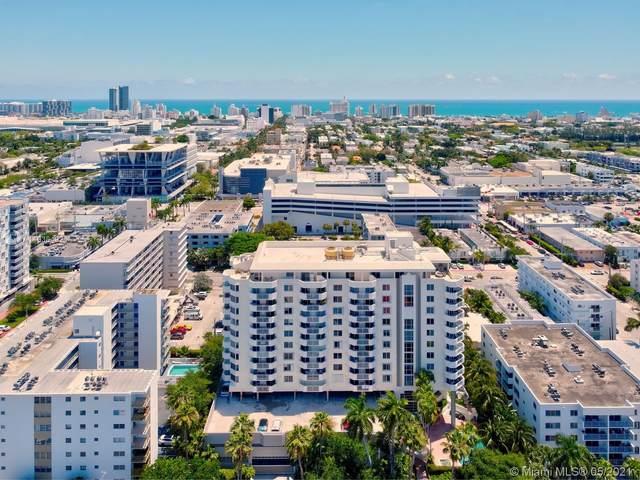 1621 Bay Rd #403, Miami Beach, FL 33139 (MLS #A11036492) :: The Teri Arbogast Team at Keller Williams Partners SW