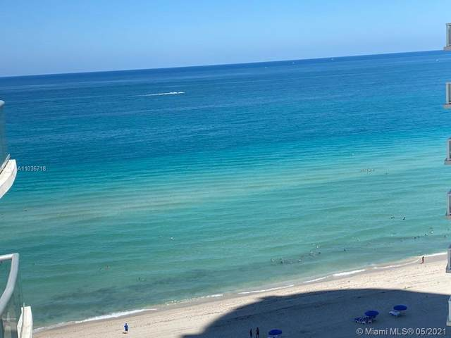 18683 Collins Ave #1609, Sunny Isles Beach, FL 33160 (MLS #A11036718) :: Compass FL LLC
