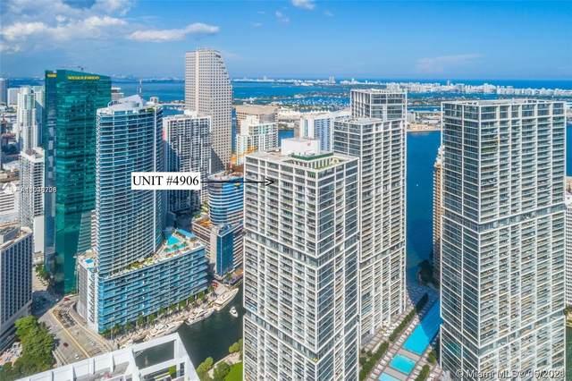 485 Brickell Avenue #4906, Miami, FL 33131 (MLS #A11036726) :: The Teri Arbogast Team at Keller Williams Partners SW