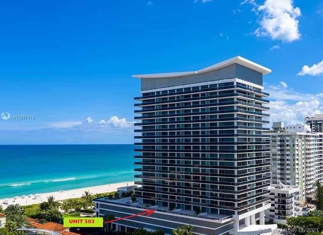 5875 Collins Ave #503, Miami Beach, FL 33140 (MLS #A11037179) :: Equity Advisor Team