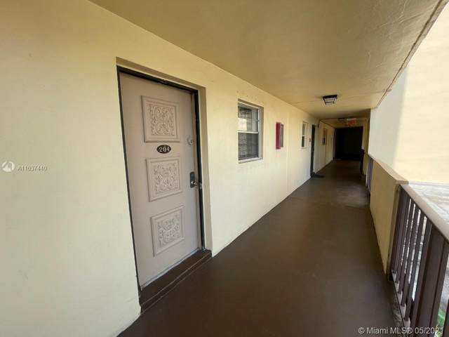 3905 N Nob Hill Rd #204, Sunrise, FL 33351 (MLS #A11037440) :: Compass FL LLC