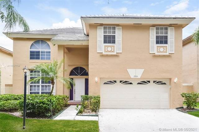 2903 Cayenne Ave, Cooper City, FL 33026 (MLS #A11037784) :: Green Realty Properties