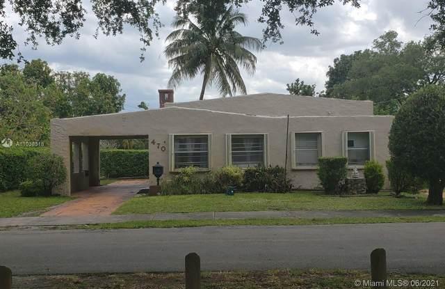 470 NE 130th St, North Miami, FL 33161 (MLS #A11038318) :: All Florida Home Team
