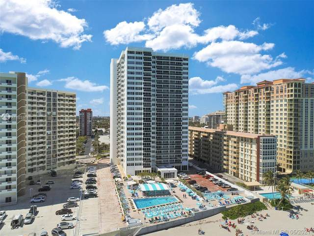 2030 S Ocean Dr #507, Hallandale Beach, FL 33009 (MLS #A11038646) :: The Howland Group